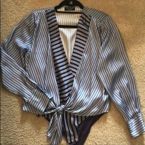 Zara Bodysuit (With Stripes)